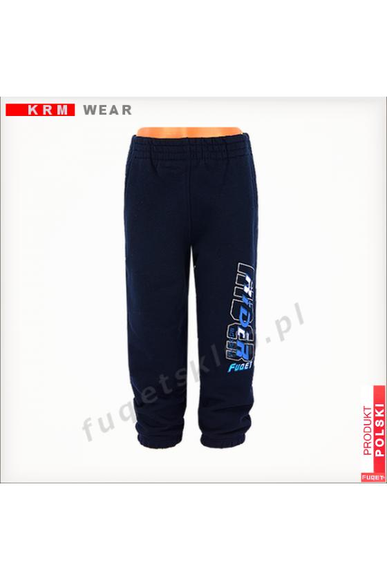 Spodnie dziecięce FUQET RIDER - G grantowe