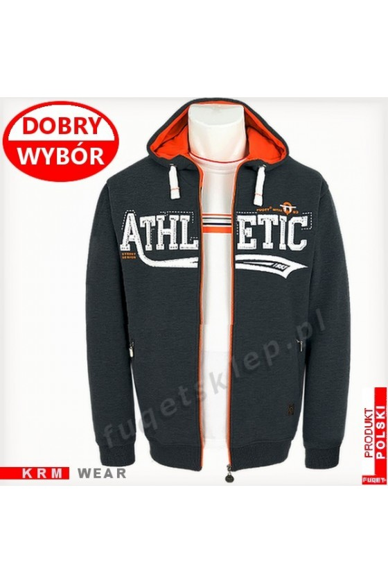 Bluza FUQET ATHLETIC SD GDS antracyt