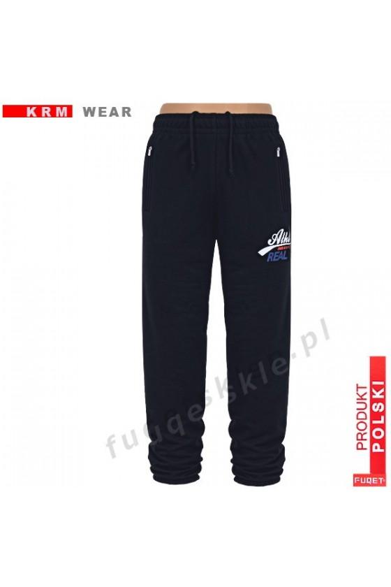 Spodnie  FUQET ATHL DSP czarne