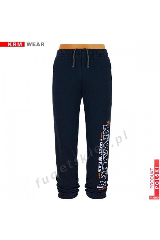Spodnie RIVALRY DSG czarny/pom