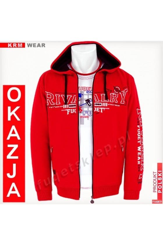 Bluza FUQET RIVALRY GDS czerwona