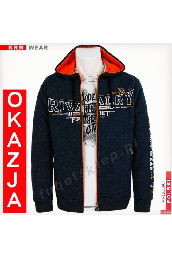 Bluza FUQET RIVALRY GDS antracyt