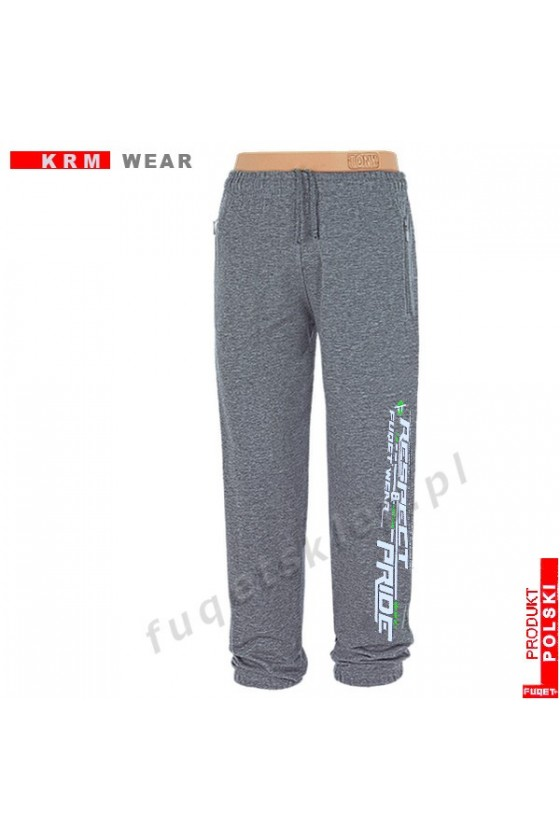 Spodnie bawełna RESPECT...