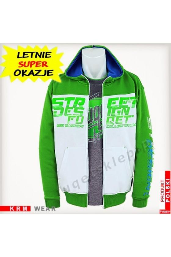 Bluza STREET DESIGN FUQET PDS zielona