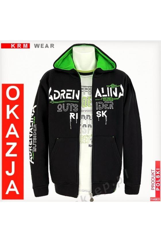 Bluza  ADRENALINA  RISK 2 GDS czarna
