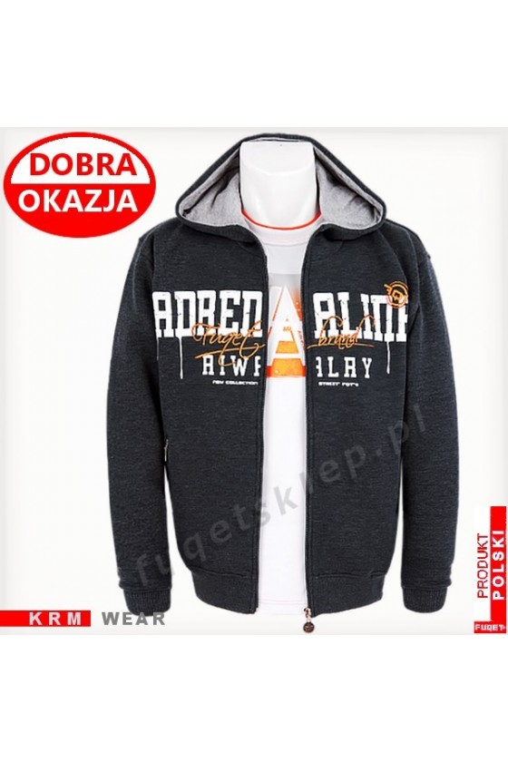 Bluza  ADRENALINA RIVALRY GDS antracyt