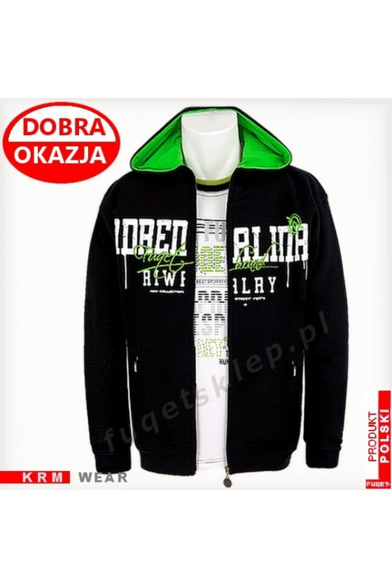 Bluza  ADRENALINA RIVALRY GDS czarna