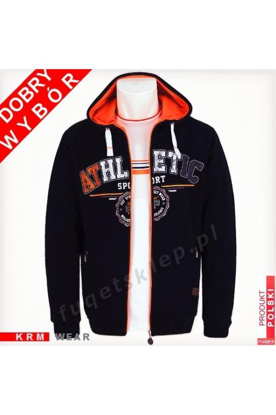 Bluza ATHLETIC SPORT GM czarna/orange