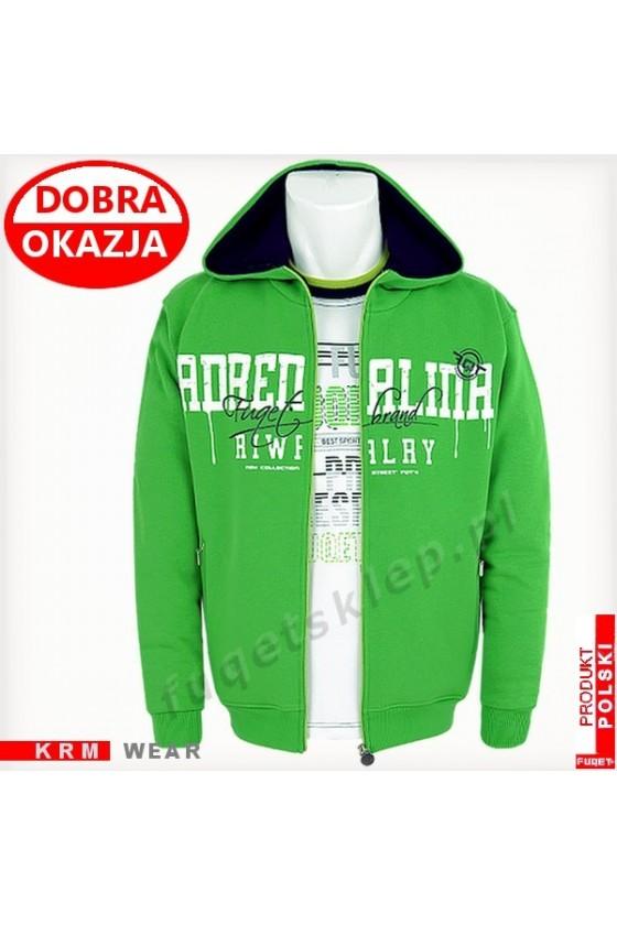 Bluza  FUQET ADRENALINA RIVALRY GM zielona