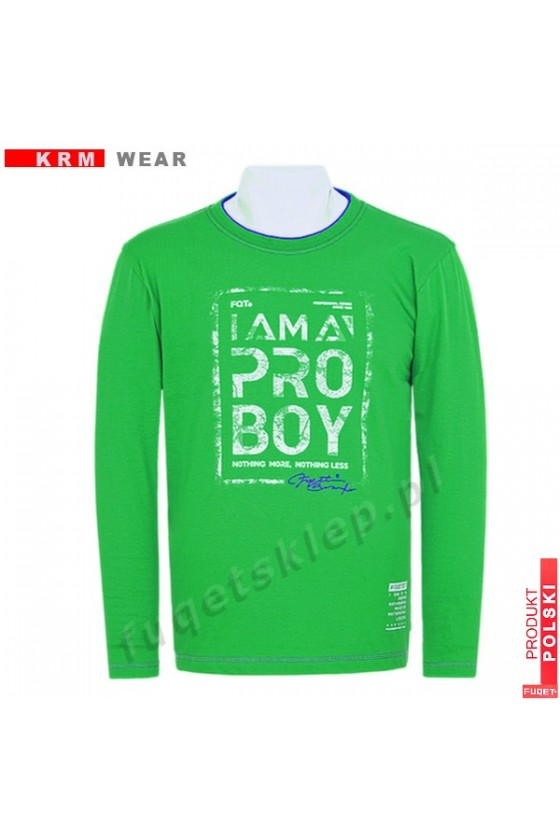 Longsleeve FUQET BOY M zielony