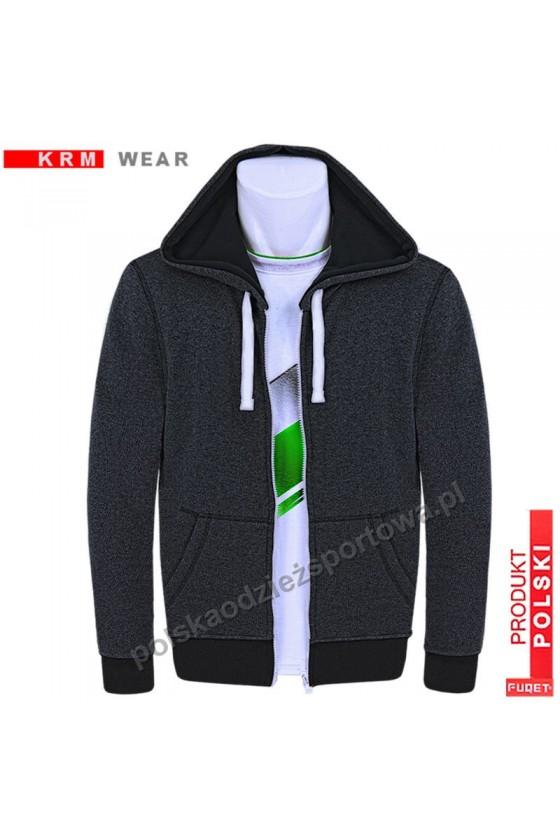 Bluza CLASSIC SX antracyt 100% bawełna