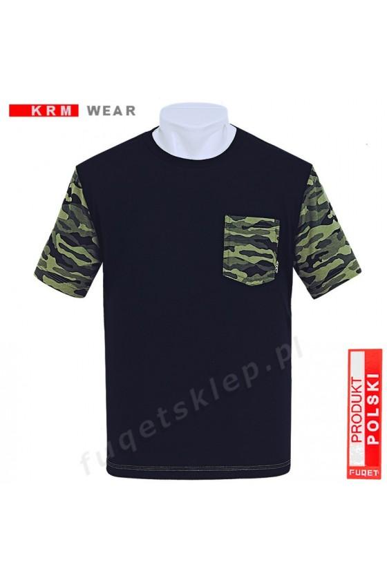 Koszulka MORO kieszonka  M czarna
