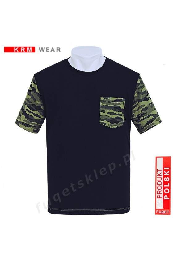 Koszulka MORO kieszonka  MD  czarna