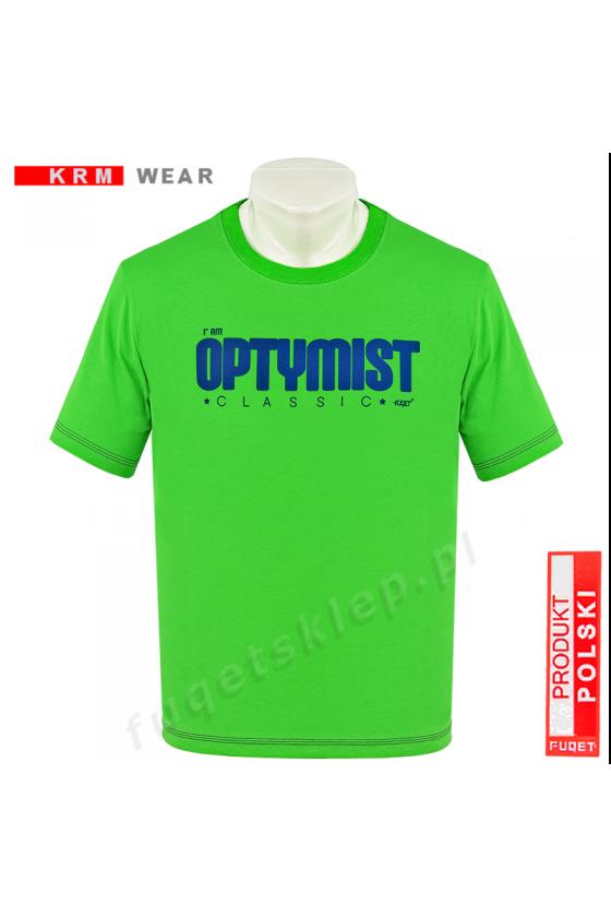 Koszulka OPTYMIST zielona