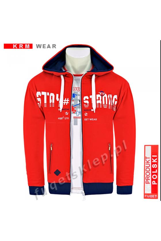 Bluza STAY STRONG 2 MP czerwona