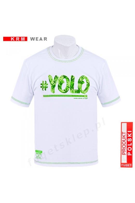 Koszulka YOLO MD biała