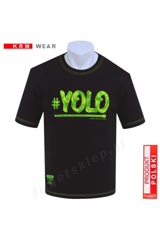 Koszulka YOLO MD czarna