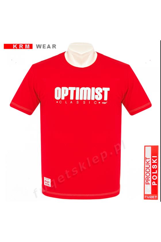 Koszulka OPTIMIST czerwona