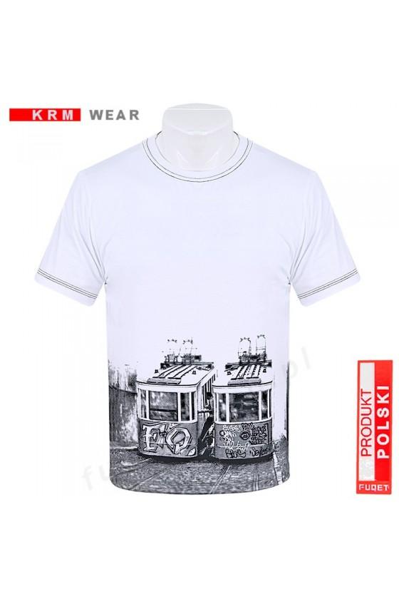 Koszulka GRAFFITI M biała