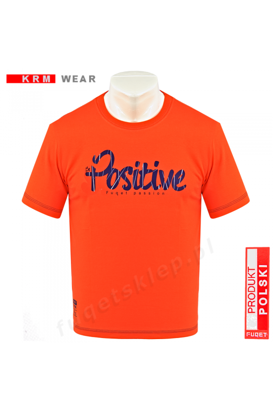 Koszulka POSITIVE MD orange