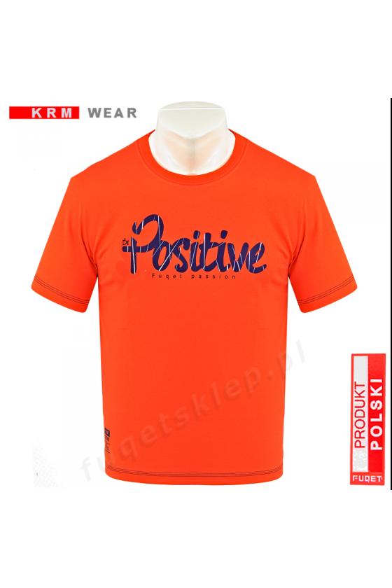 Koszulka POSITIVE DS orange
