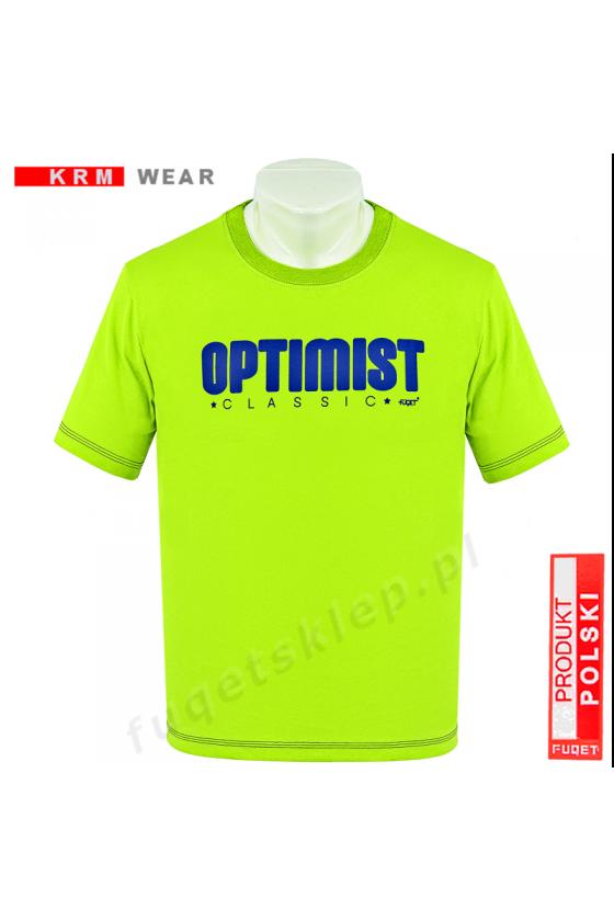 Koszulka OPTIMIST M seledyn