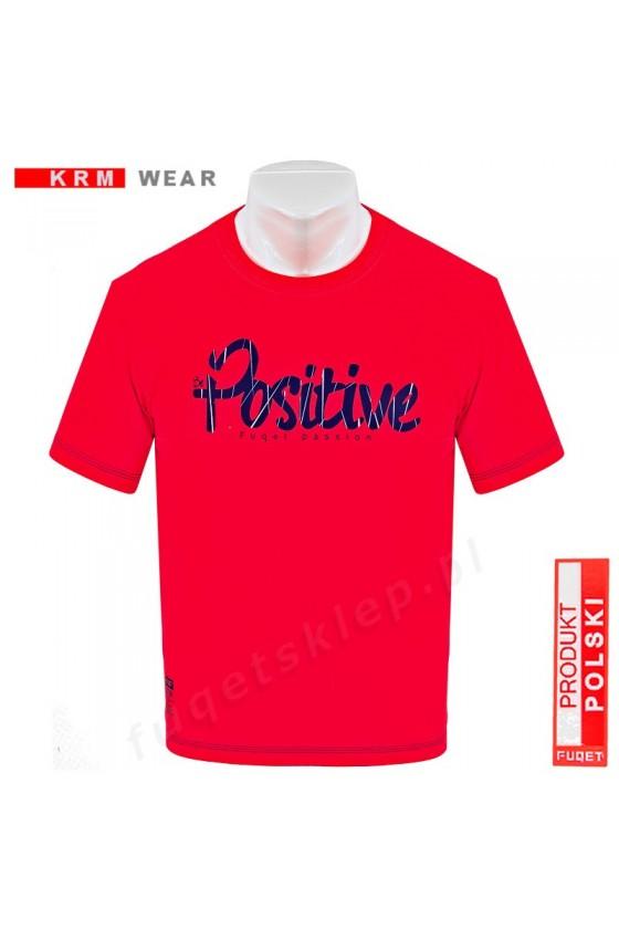 Koszulka POSITIVE M czerwona