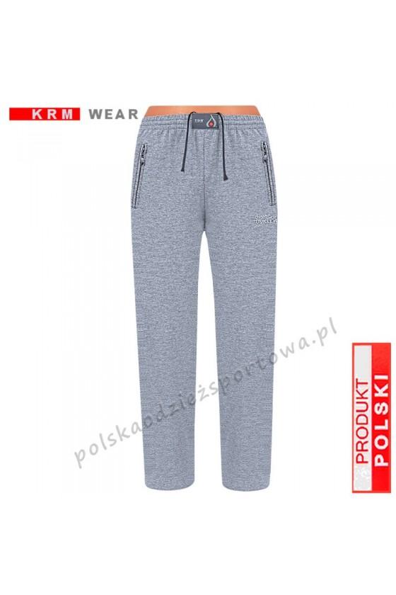 Spodnie bawełna TS 175 CLASSIC  PMD melanż