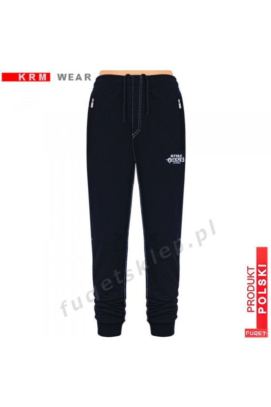 Spodnie ATHLETIC 93 GDS czarne