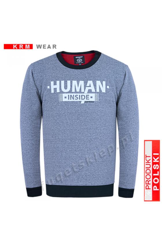 Bluza HUMAN GM melanż