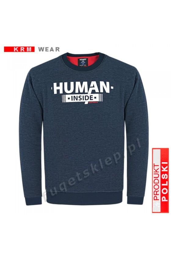 Bluza HUMAN GM antracyt