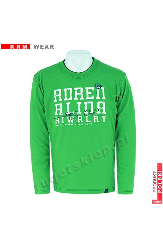 Longsleeve  ADRENALINA RIVALRY M zielony