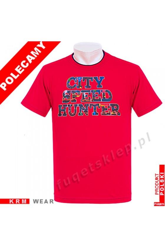 Koszulka FUQET CITY SPEED HUNTER M czerwony