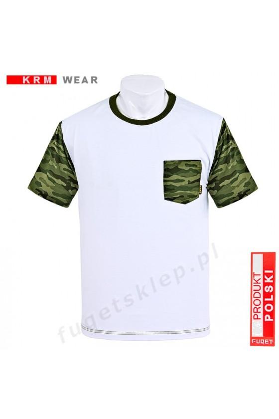 Koszulka MORO kieszonka  DS  biała