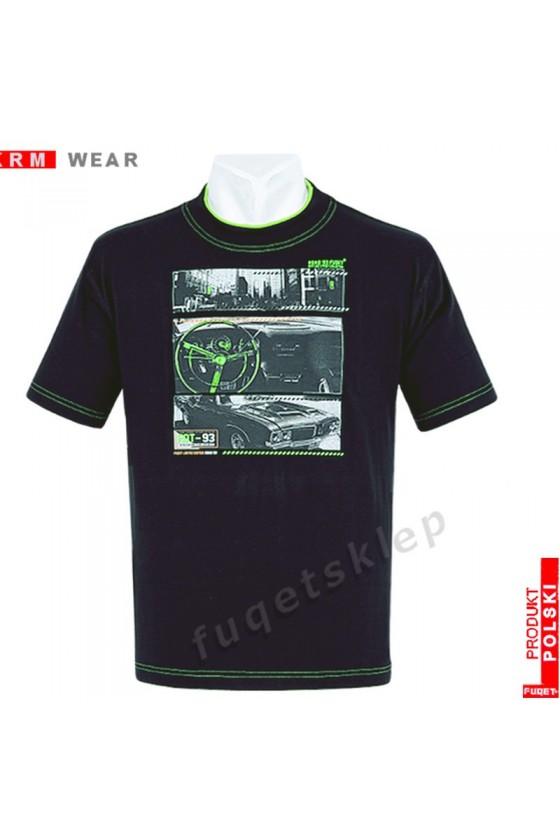 Koszulka FUQET  ROAD DS czarny