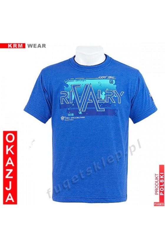 Koszulka FUQET RIVALRY DS niebieski mel.