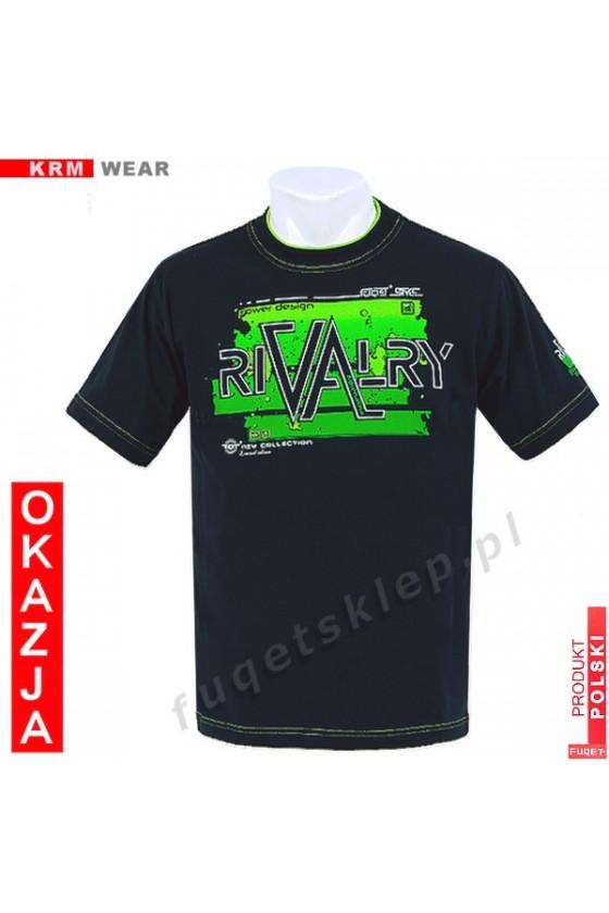 Koszulka FUQET RIVALRY DS czarny