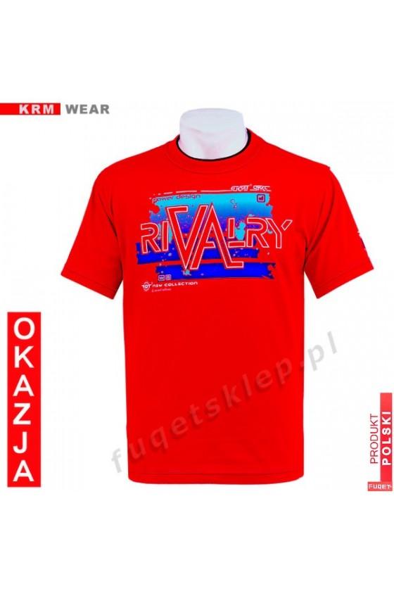 Koszulka FUQET RIVALRY DS czerwony