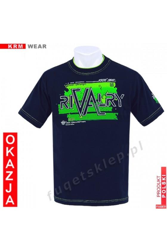 Koszulka FUQET RIVALRY DS granat