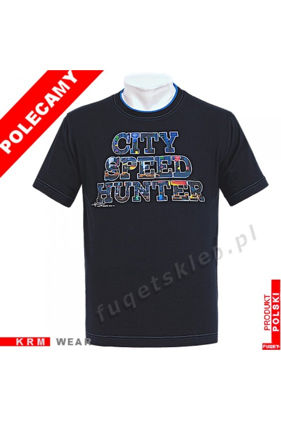 Koszulka FUQET CITY SPEED HUNTER DS czarny