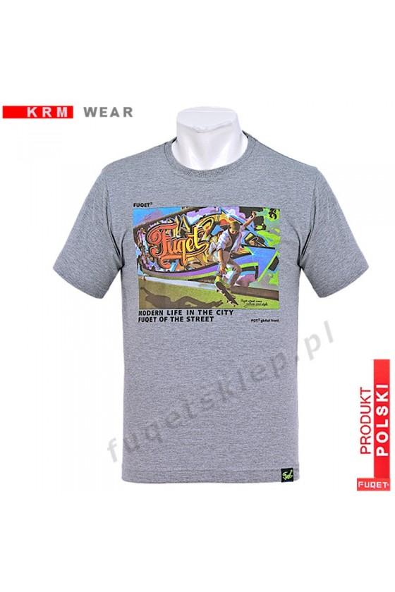 Koszulka FUQET GRAFFITI -DS melanż