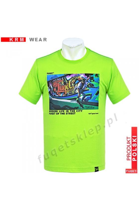 Koszulka FUQET GRAFFITI -DS zielony