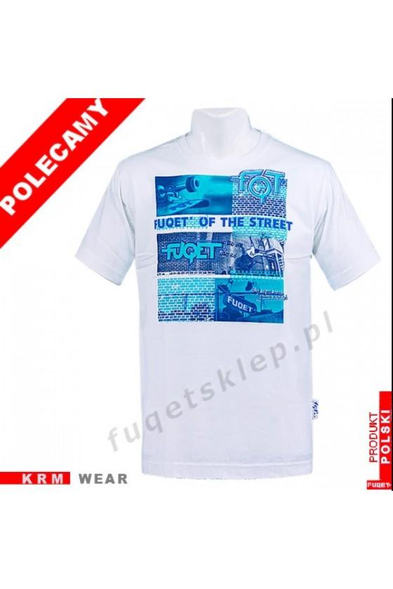 Koszulka FUQET STREET DS biały