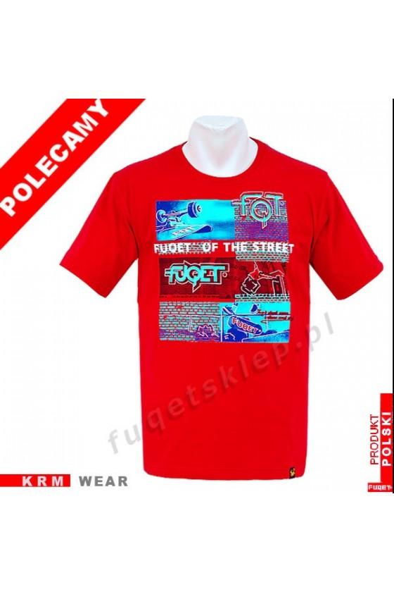 Koszulka FUQET STREET DS czerwony