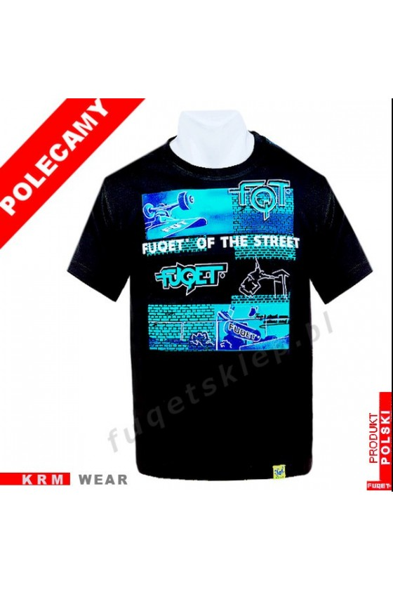 Koszulka FUQET STREET DS czarny
