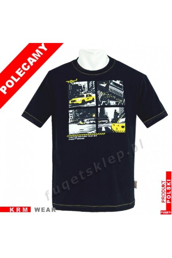 Koszulka FUQET -  TAXI -DS czarny