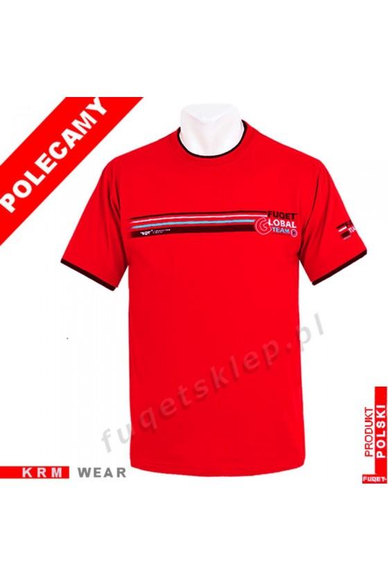 Koszulka FUQET - GLOBAL TEAM - DS czerwona