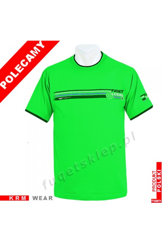Koszulka FUQET - GLOBAL TEAM - DS zielona