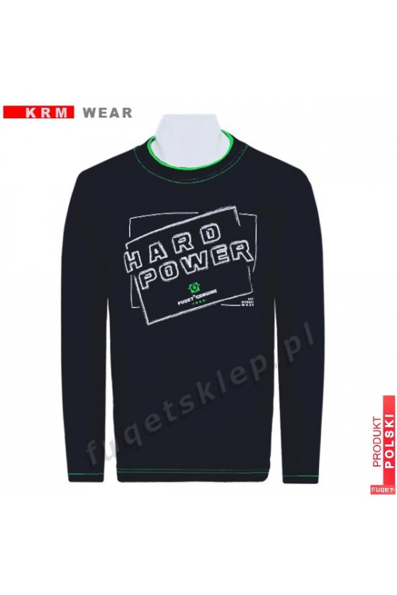 Longsleeve HARD POWER M czarny