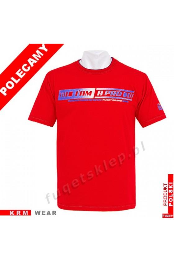 Koszulka I AM A PRO M czerwona